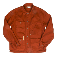 Tellason Coverall Jacket - international orange