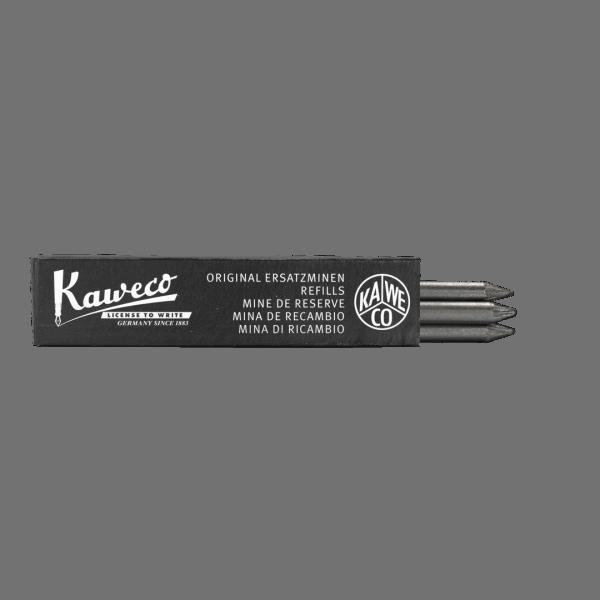 Kaweco Pencil Leads 5.6 mm 5B - 3 pcs