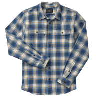 Filson Scout Shirt Shirt blue-gold-white