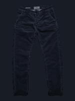 BLUE DE GENES Paulo Zoldo Super Oil Trousers - Midnight Blue