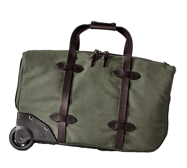 Filson Small Rugged Twill Rolling Duffle Bag - Otter Green