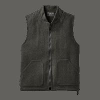 Filson Wool Einzipp Weste - Charcoal