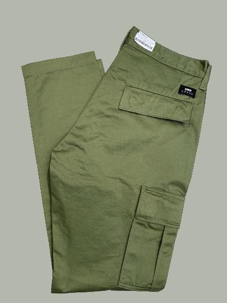 Edwin 45 Combat Pant Compact Twill 9oz - military green