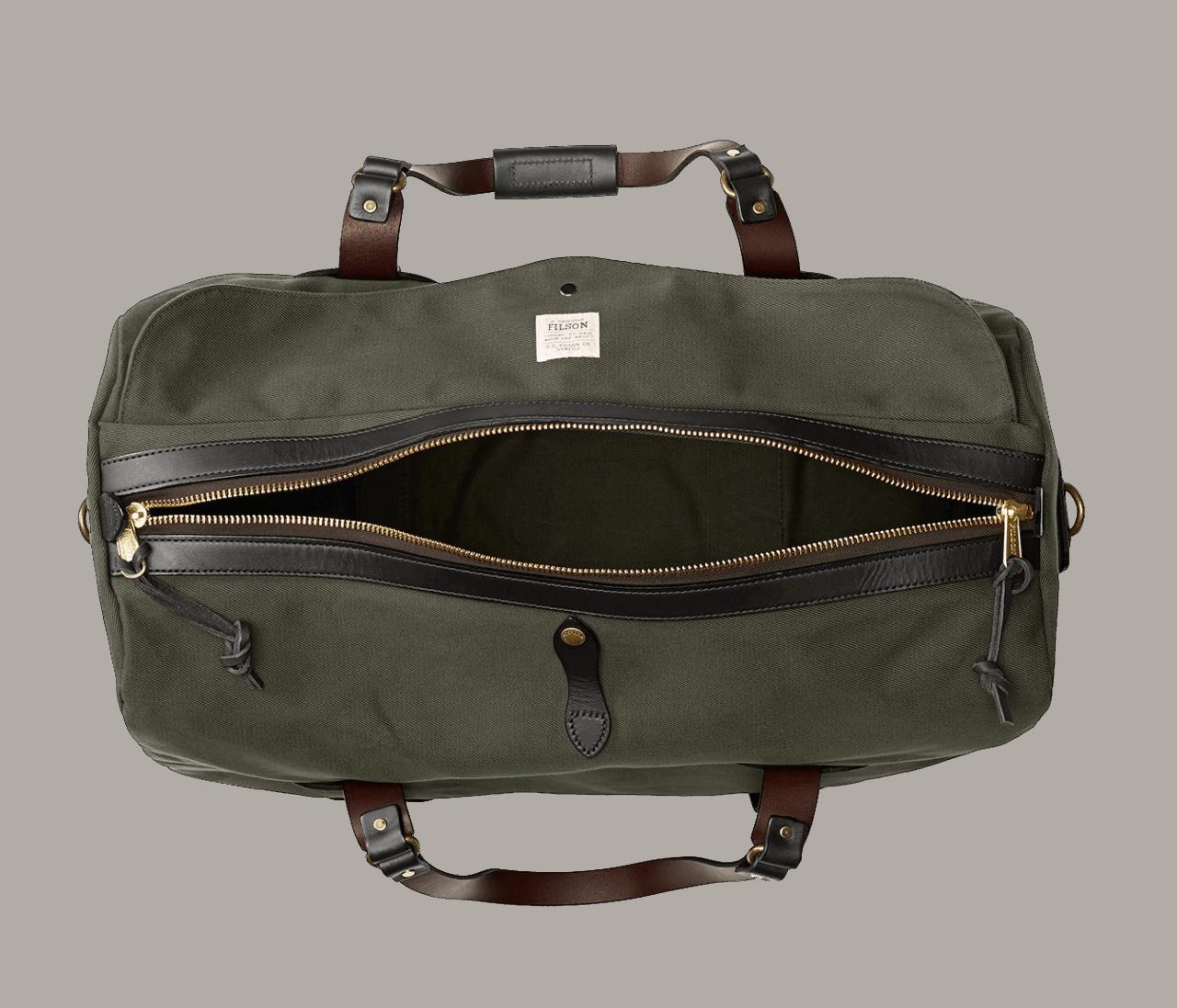 Filson Medium Rugged Twill Duffle Bag - Otter Green