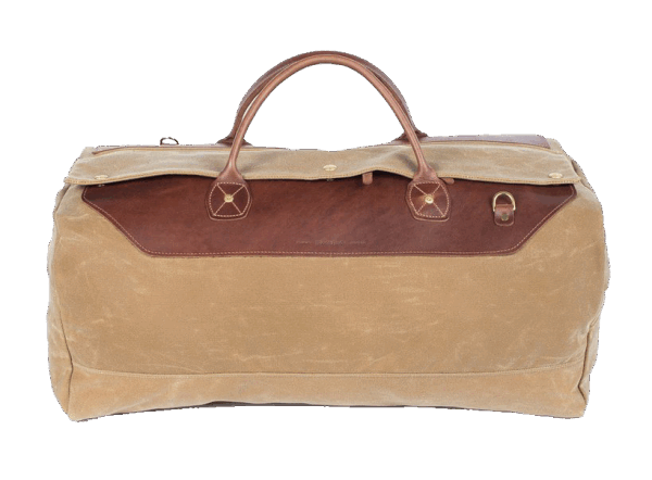 Wood & Faulk Grand Tourer Duffle-sage