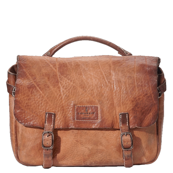 Coronado Leather Vintage Saddle Bag