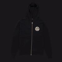 Deus Elevation Zip Hoodie - Black