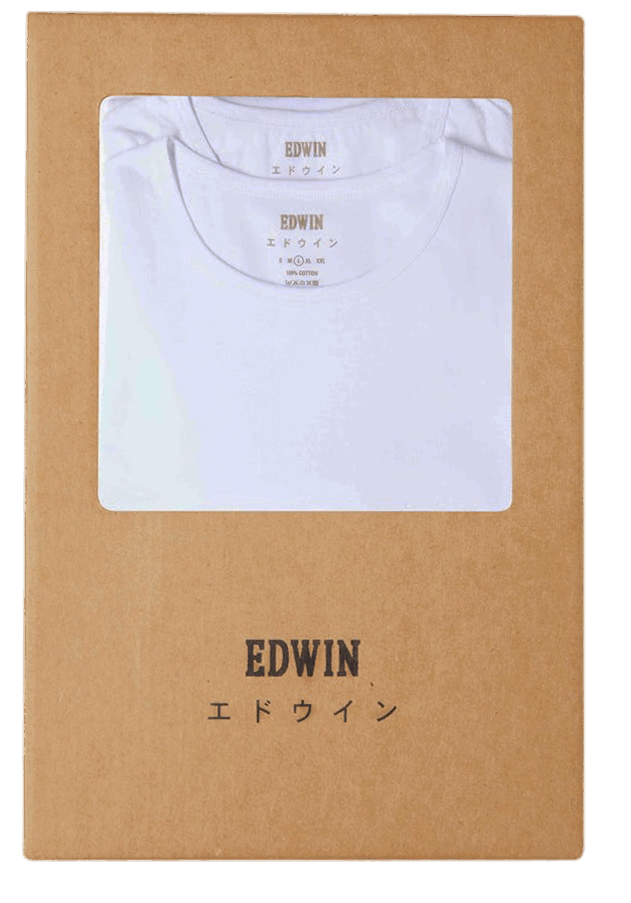 Edwin Double Pack T-Shirt - white