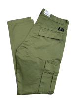 Edwin 45 Combat Pant Compact Twill 9oz - military green