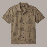 Filson Smokey Bear Camp Shirt - olivegrey