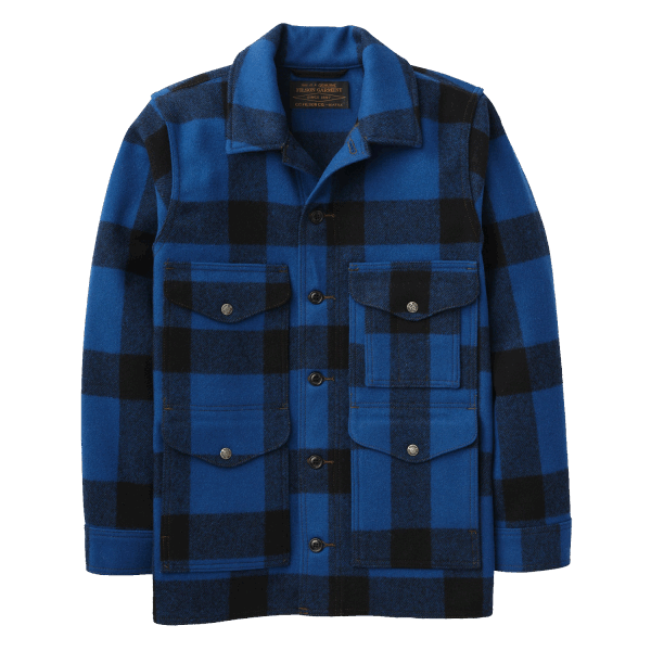Filson Mackinaw Cruiser - cobalt blue /black