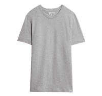 Merz b. Schwanen Basic T-Shirt - Grey Mel.