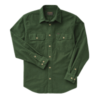 Filson Field Flannel Shirt - dark moss