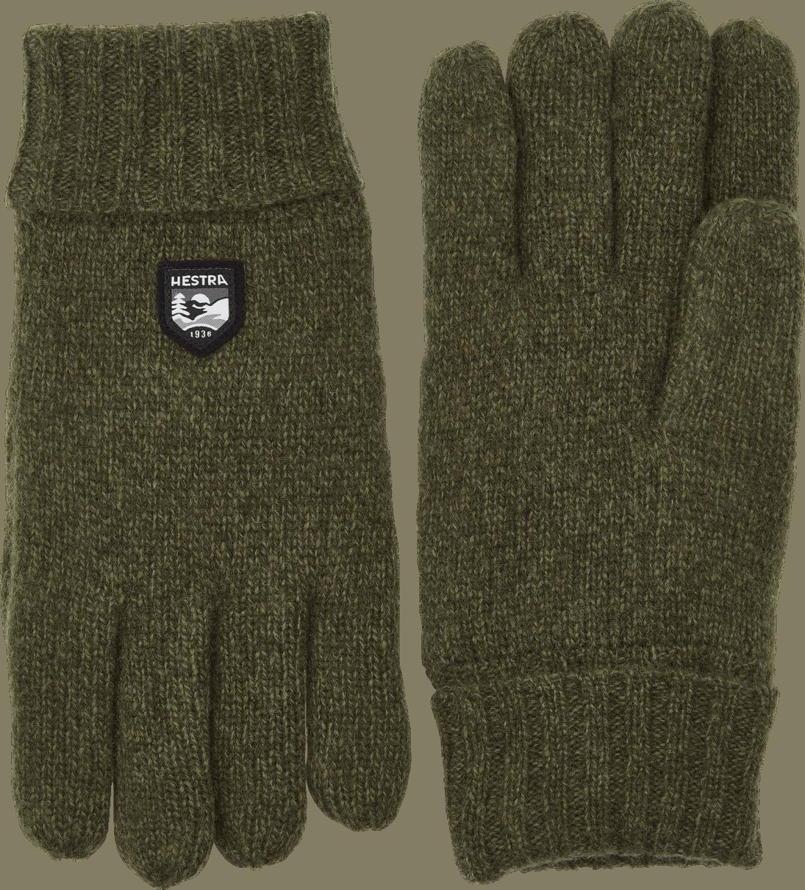 Hestra Basic Wool - Olive