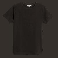 Merz b. Schwanen Rundhals T-Shirt 215 - charcoal