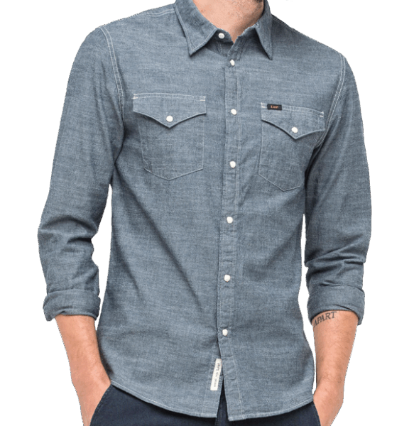 LEE Western Shirt, navy darkness
