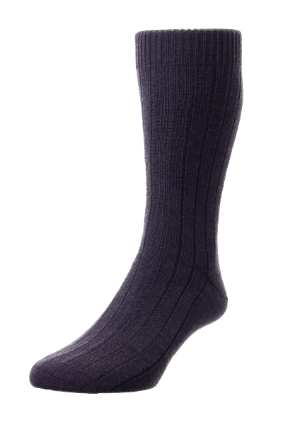 Pantherella Packington Merino Wool - darkbrown