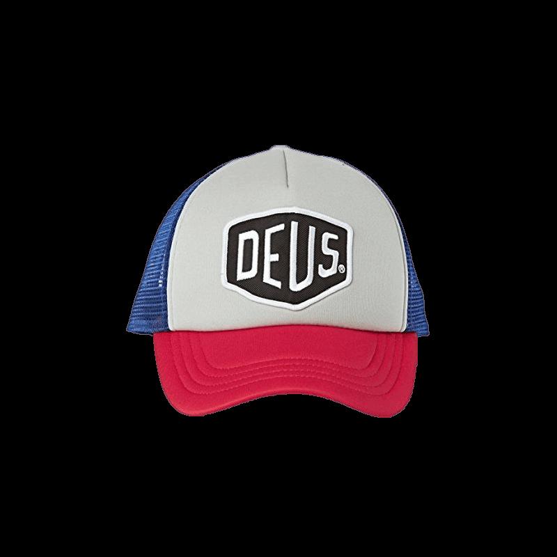 Deus Baylands Trucker Cap -red