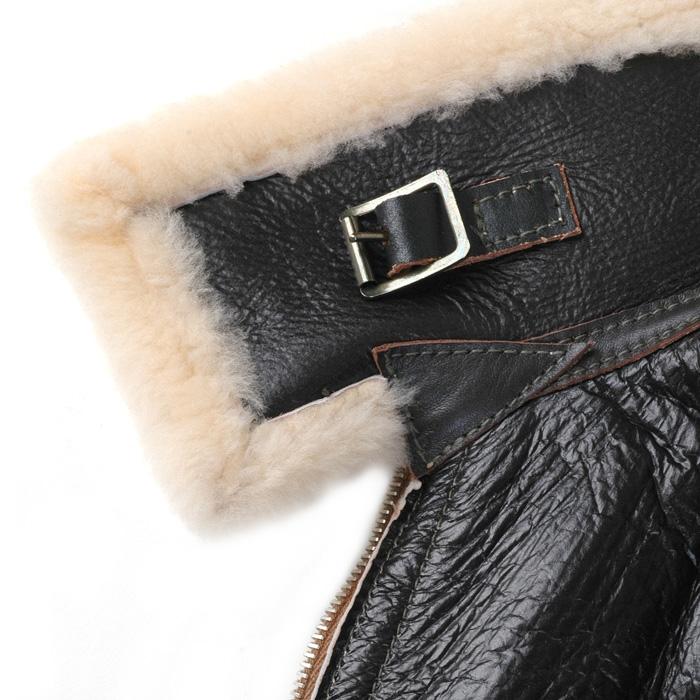 Aero Leather Type D-1 sealbrown