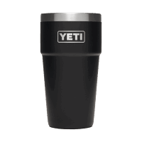 YETI Rambler 16 oz Becher - black