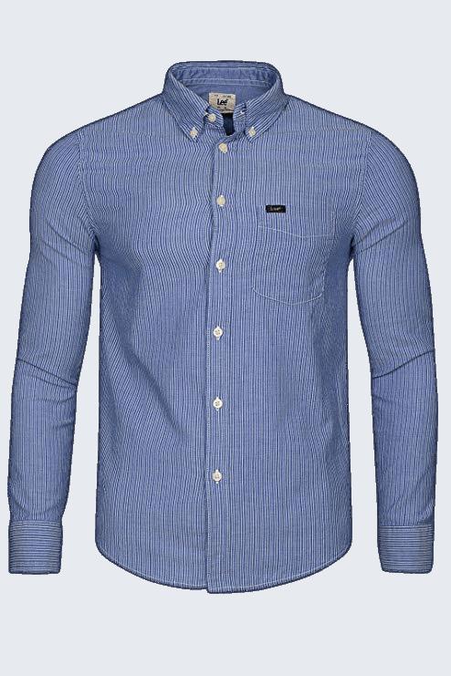 LEE Button Down Shirt, night blue