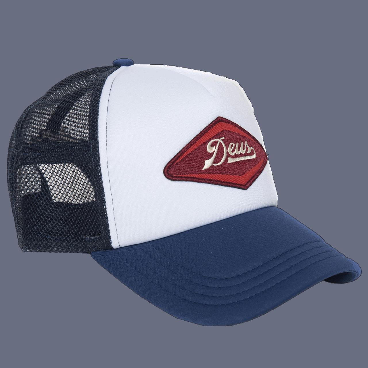 Deus Diamond Trucker - blue / white / red