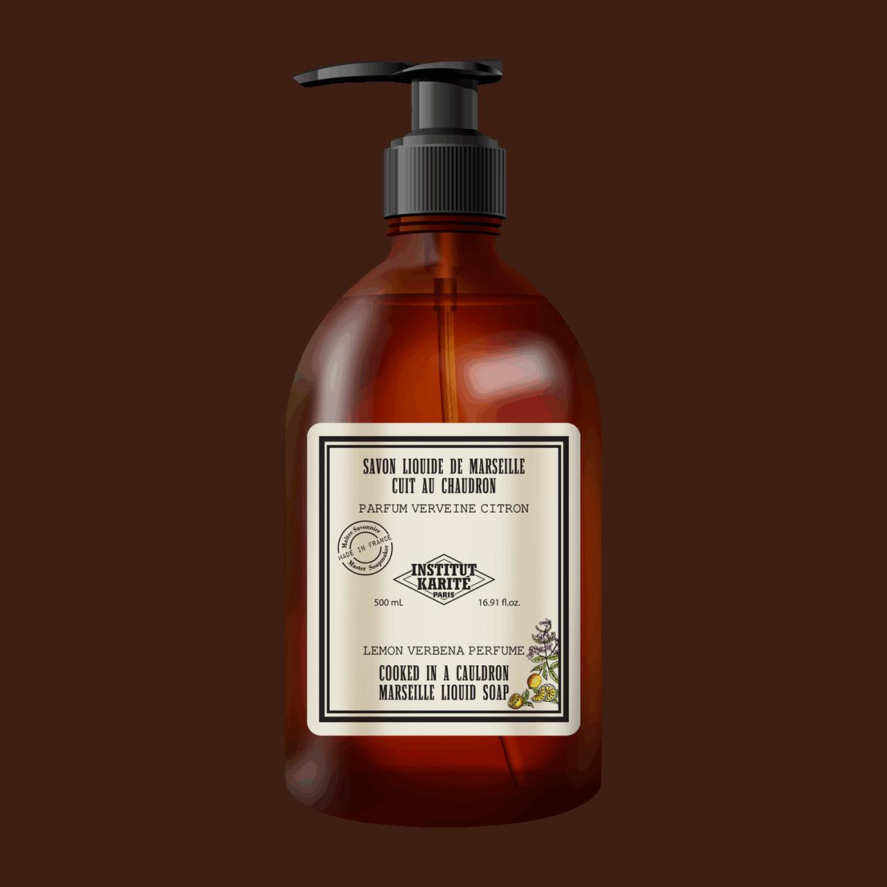 Vintage Marseille Liquid Soap - Lemon / Verbena 500ml