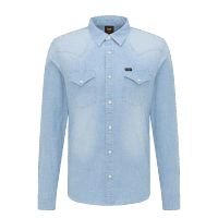 LEE Western Shirt - Skyway blue