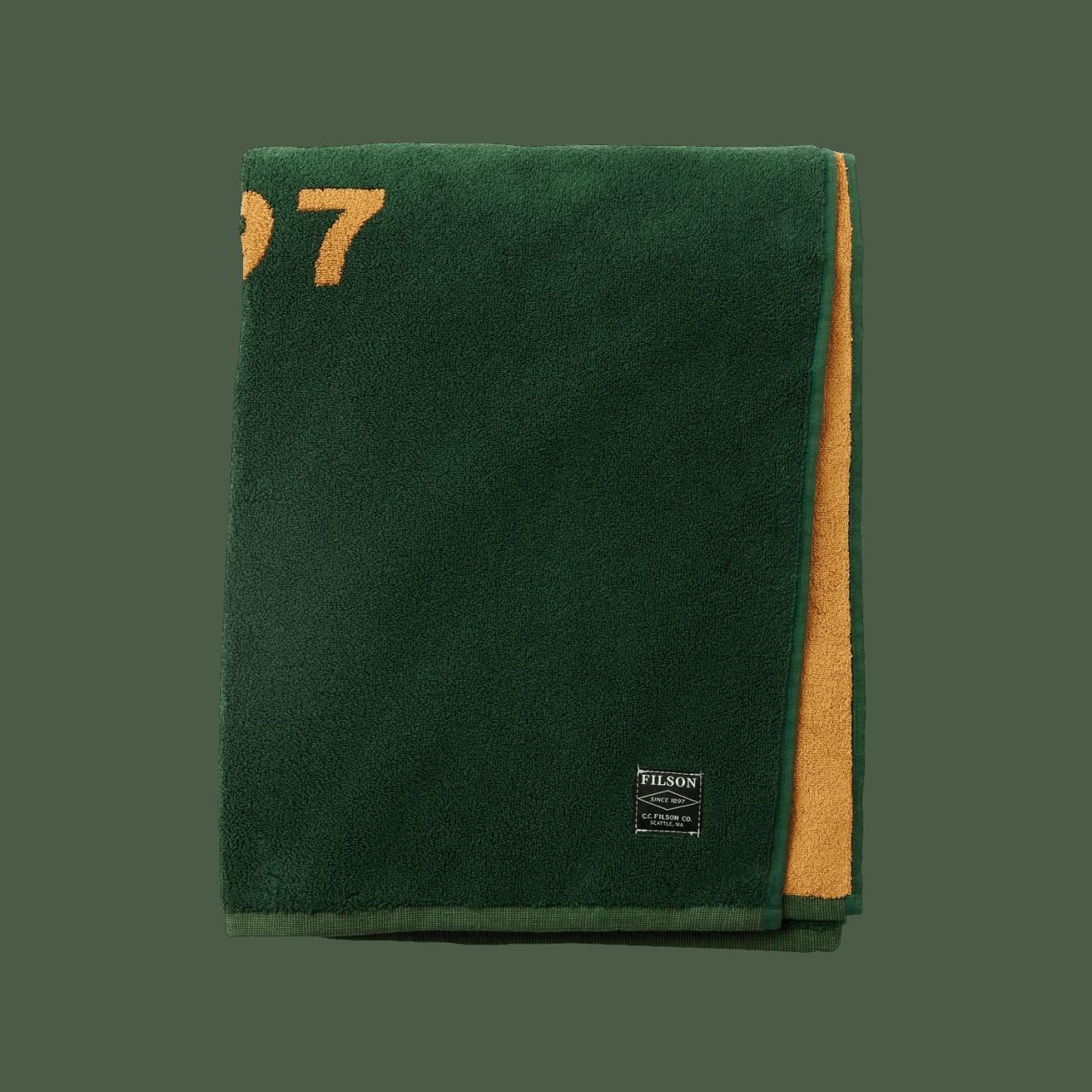 Filson Pine Tree Towel - grün
