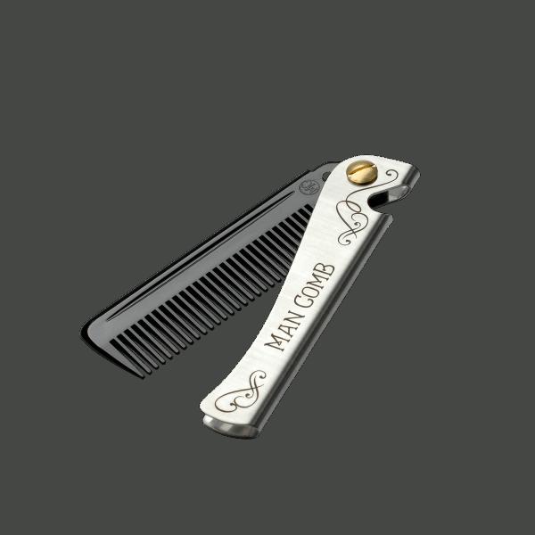 Daft Daft Man Comb - black