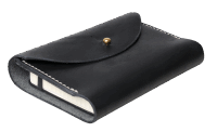 Scott Willis Horsehide Moleskin Cover Din A6 - black