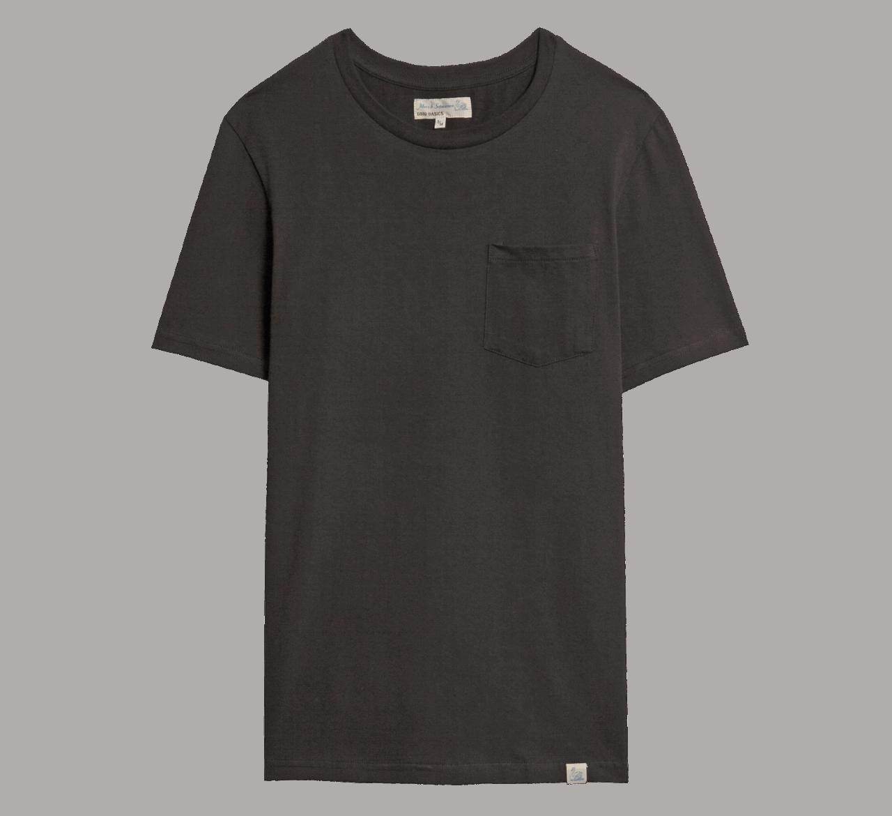 Merz beim Schwanen Basic Pocket T-Shirt - Black
