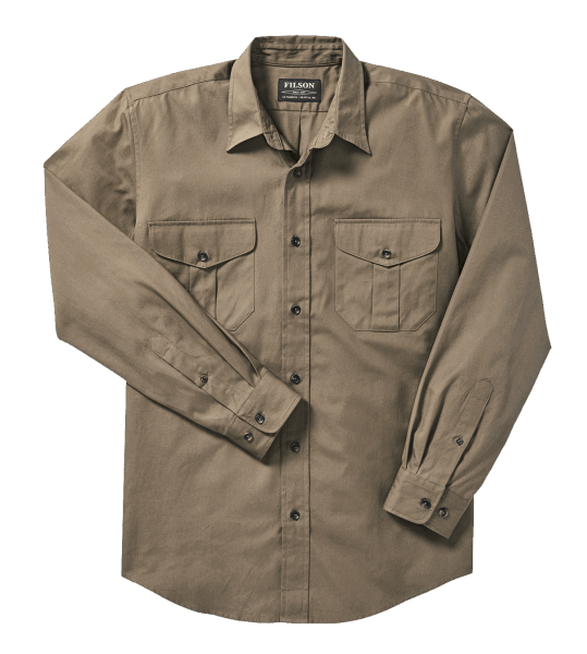 Filson Safari Cloth Shirt - olive