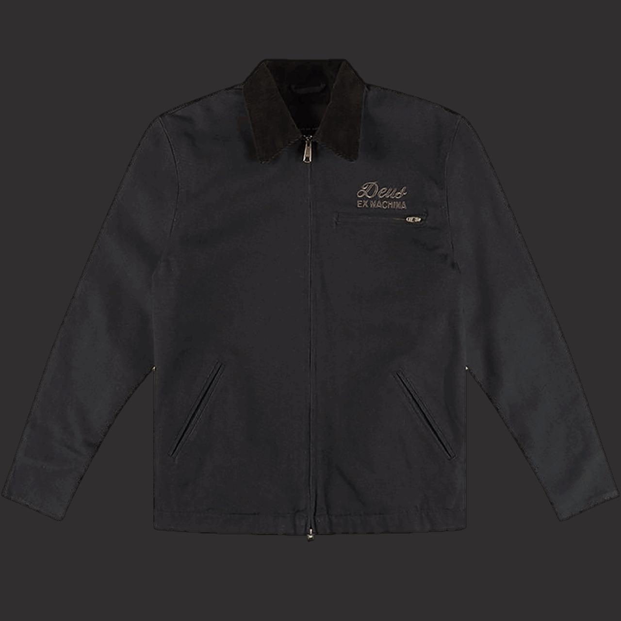 Deus Address Workwear Jacket Black