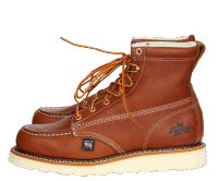 "Thorogood 514-4200 6"" Womens Moc Toe Tobacco"