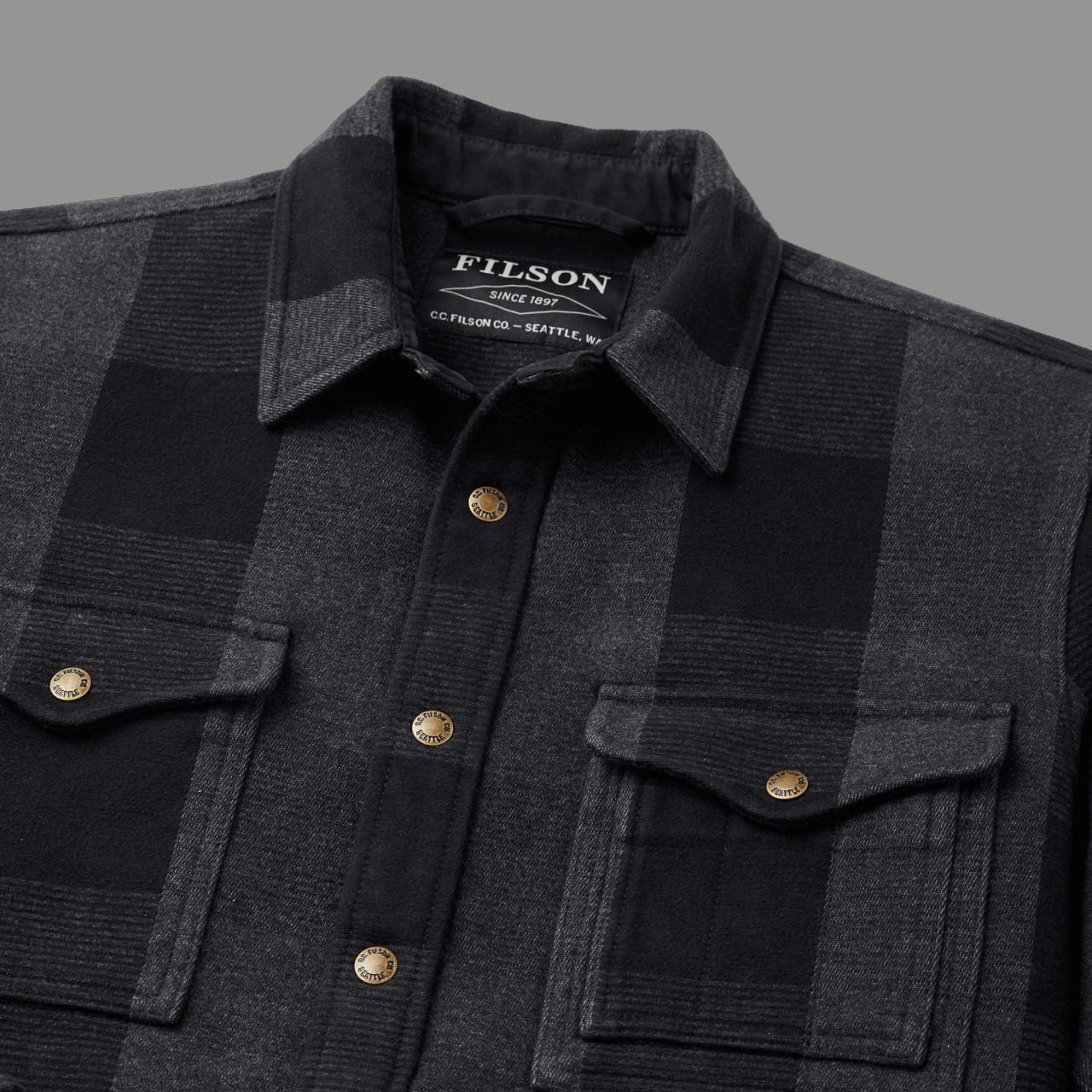 Filson Beartooth Camp Jacket - black gray