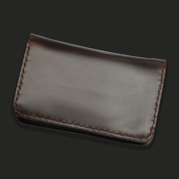 Coronado Leather HH13 BRN Portfolio Wallet Brown