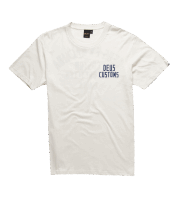 Deus Buffalo Tee - White