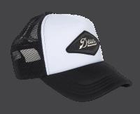 Deus Diamond Trucker - black / white