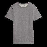 Merz b. Schwanen G.O. Rundhals T-Shirt 215 - anthra. mel.