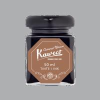 Kaweco Tintenglas Karamellbraun 50 ml