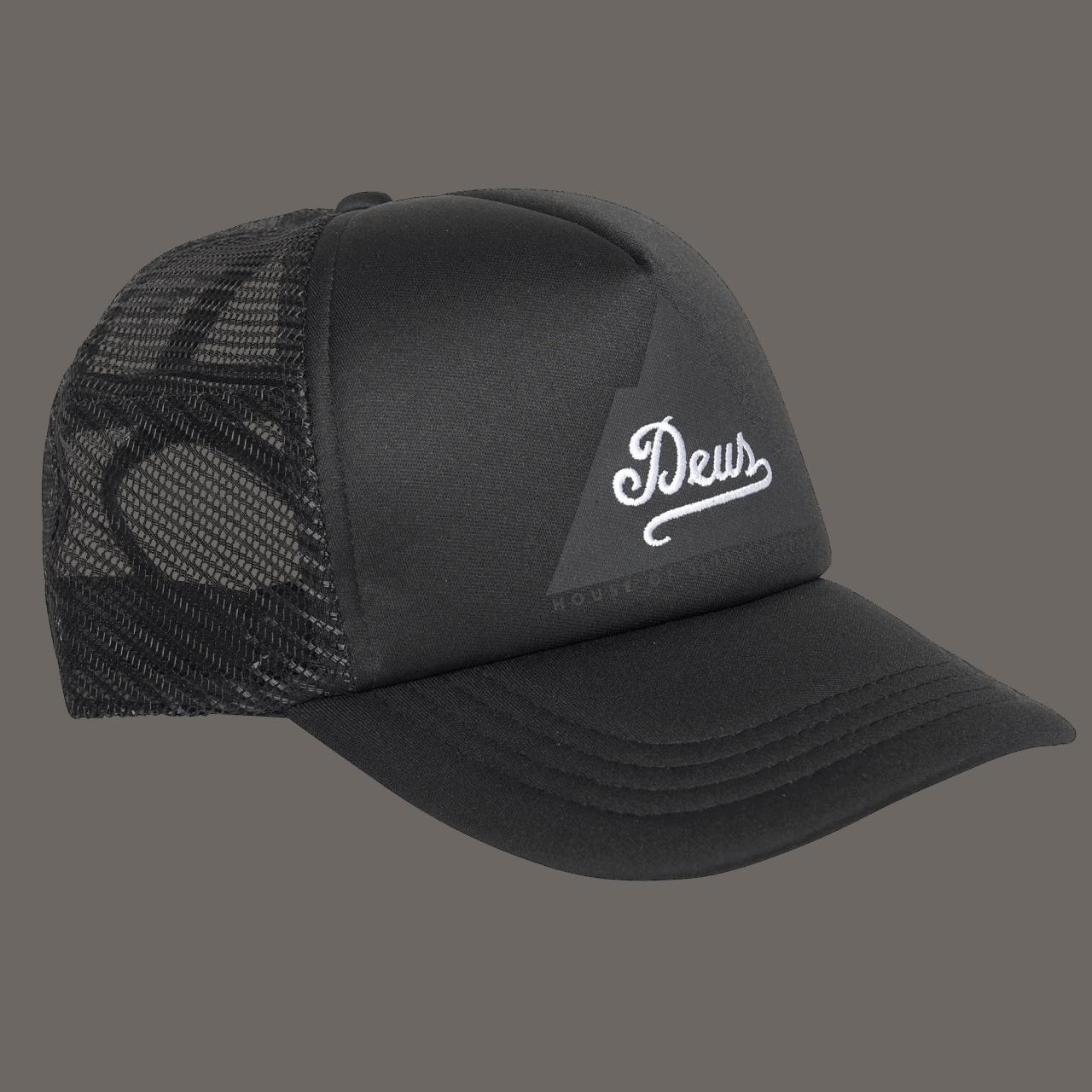 Deus Peak Trucker - Black