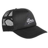 Deus Peak Trucker - Black
