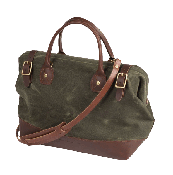 Wood & Faulk Carpenter Bag - Moss