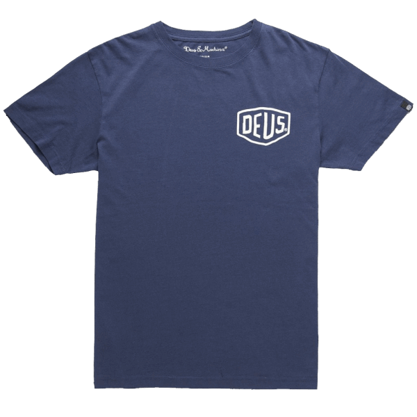 Deus Venice Address Tee - navy