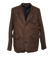 Hidden Aces Tweed Blazer - braun