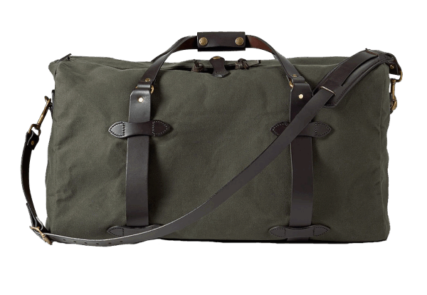 Filson Medium Rugged Twill Duffle Bag - Otter Green