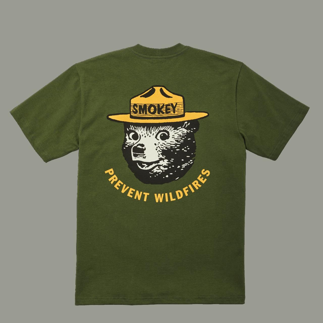 Filson Smokey Bear Short Sleeve T-shirt - timber