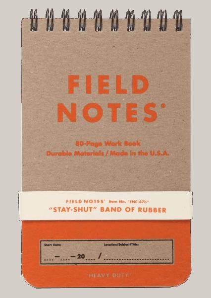 """Field Notes """"Heavy Duty"""" Edition"""