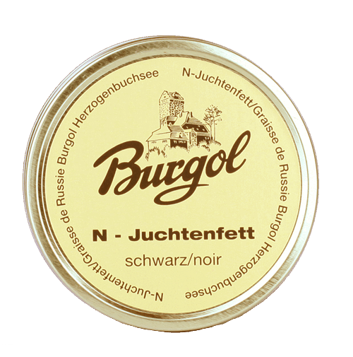 Burgol Juchtenfett 150ml - black